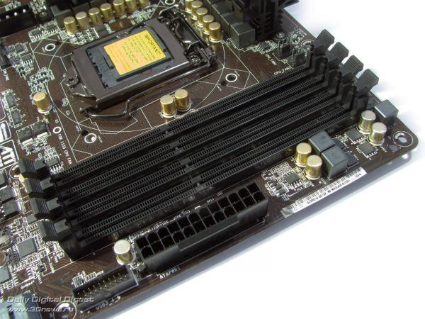 ASRock Z77 Extreme6 DIMMs
