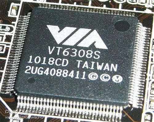 ASRock Z77 Extreme6 контроллер FireWire