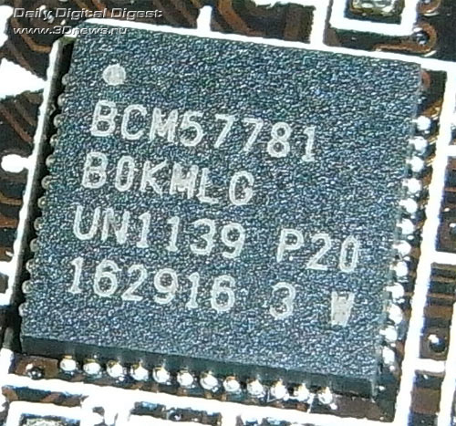 ASRock Z77 Extreme6 сетевой контроллер