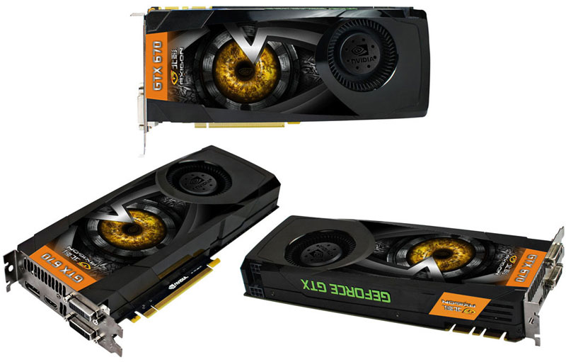 Axigon GeForce GTX 670 Raptor Edition
