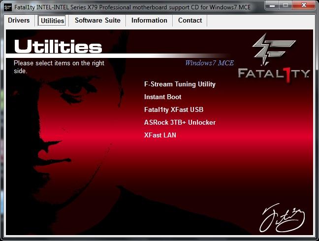 ASRock Fatal1ty X79 Professional комплектация