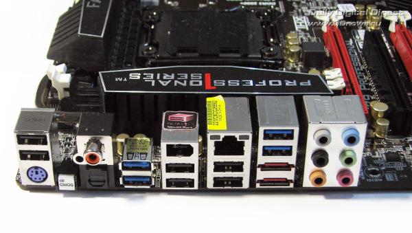 ASRock Fatal1ty X79 Professional задняя панель