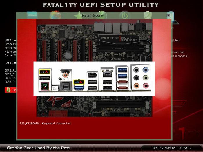 ASRock Fatal1ty X79 Professional BIOS browser 2