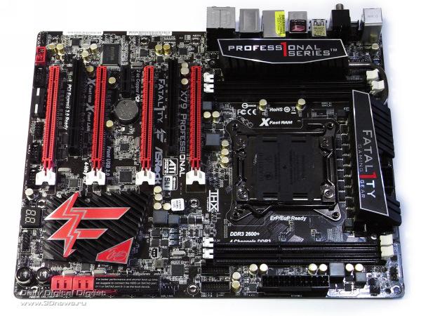 ASRock Fatal1ty X79 Professional плата