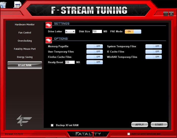 ASRock Fatal1ty X79 Professional XFast RAM