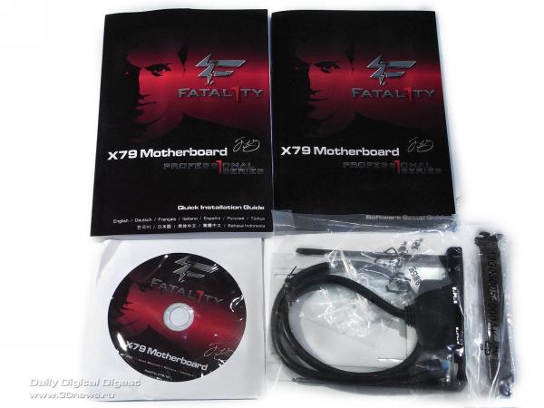 ASRock Fatal1ty X79 Professional комплектация 4
