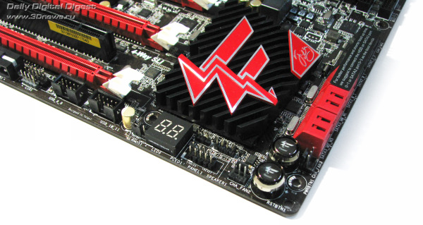 ASRock Fatal1ty X79 Professional кнопки