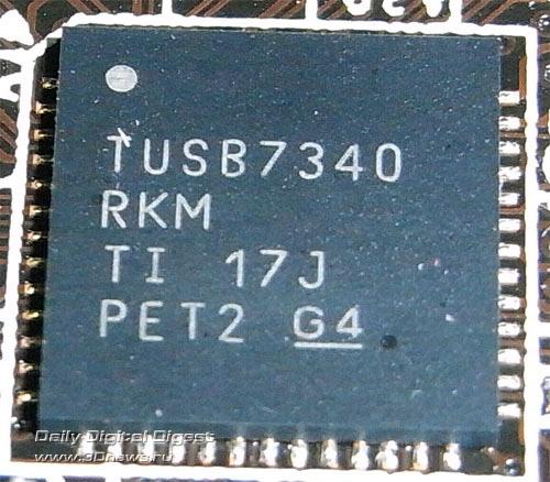 ASRock Fatal1ty X79 Professional контроллер USB 3.0