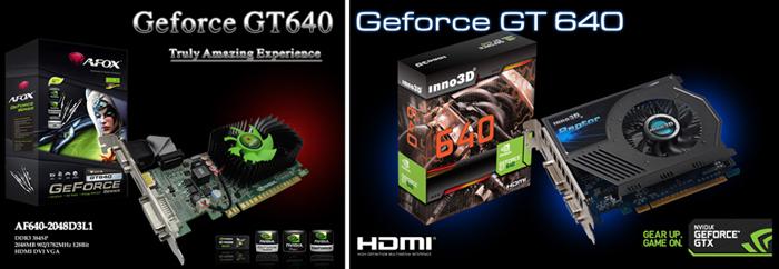 GeForce GT 640