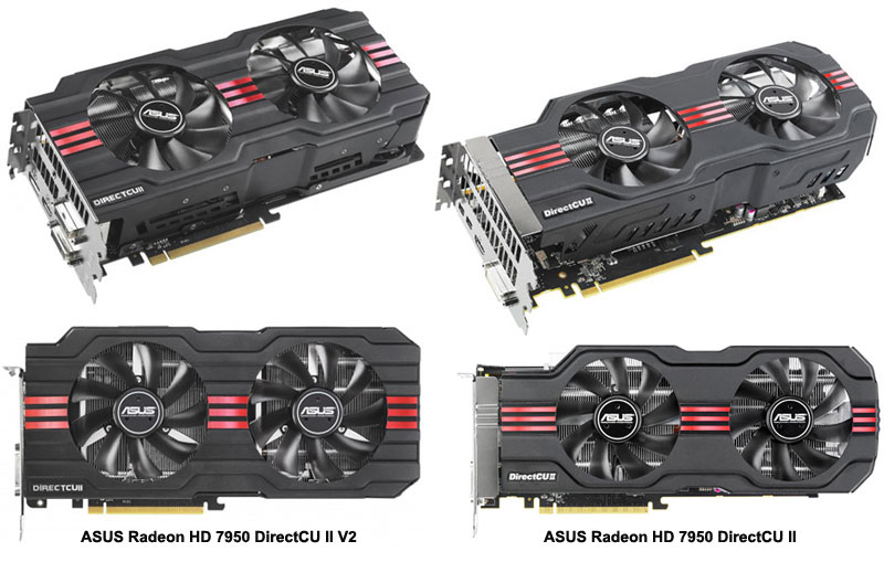 ASUS Radeon HD 7950 DirectCU II V2