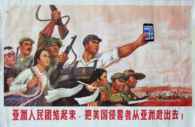 В Китае смартфоны обошли ПК по объему интернет-трафика