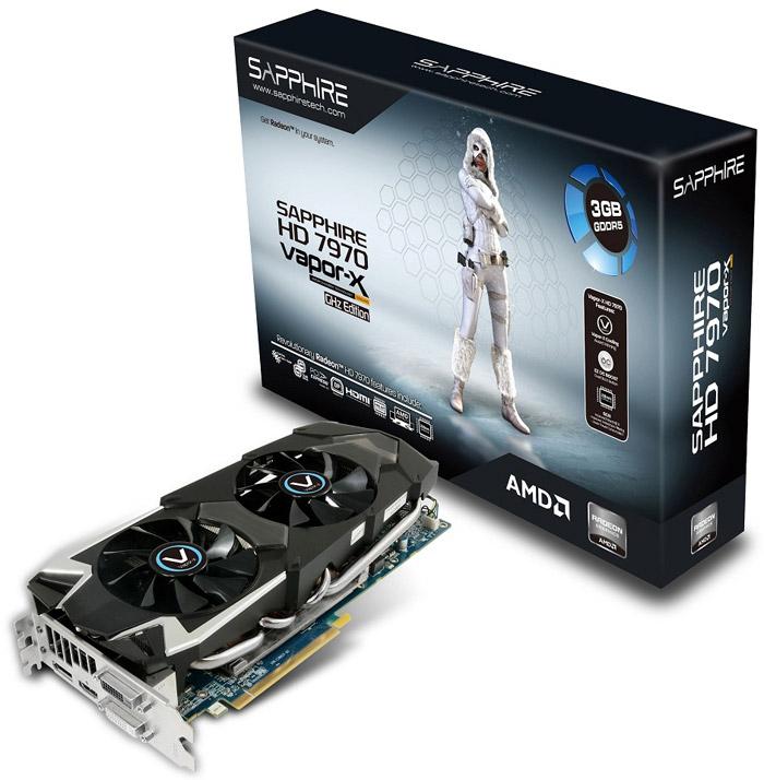 Sapphire Radeon HD 7970 GHz Edition Vapor-X 3GB GDDR5