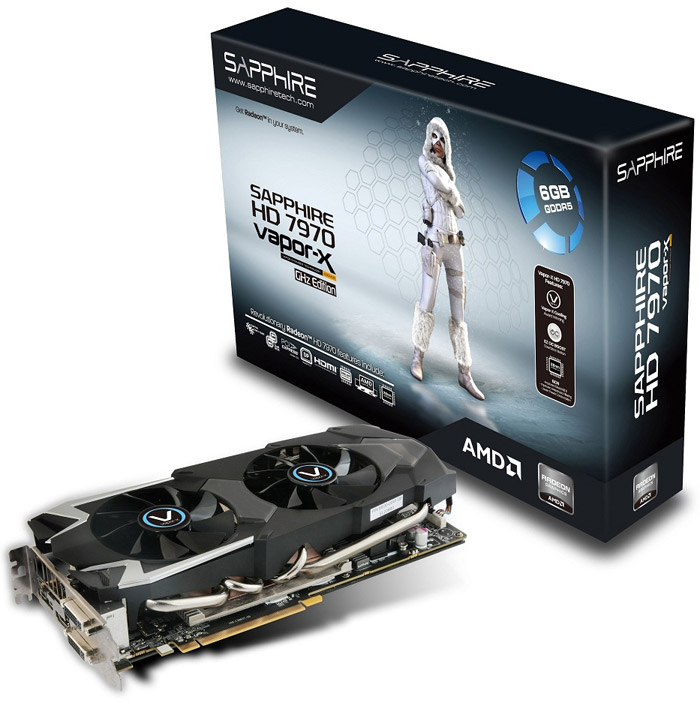 Sapphire Radeon HD 7970 GHz Edition Vapor-X 6GB GDDR5