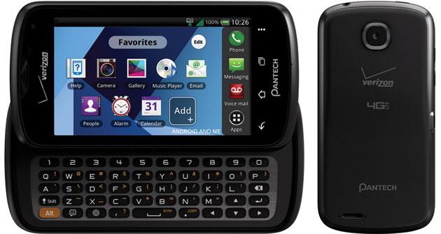 Pantech Star Q: смартфон-слайдер за 100 у.е.