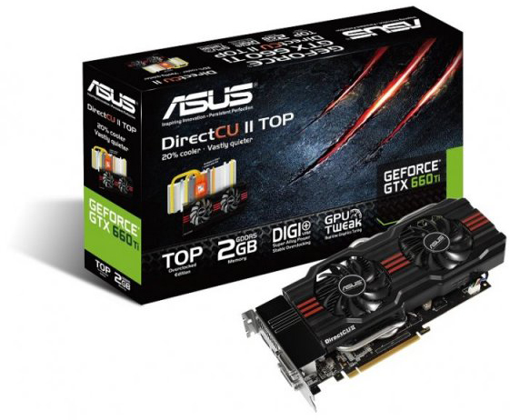 ASUS GeForce GTX 660 Ti DirectCU II TOP Edition