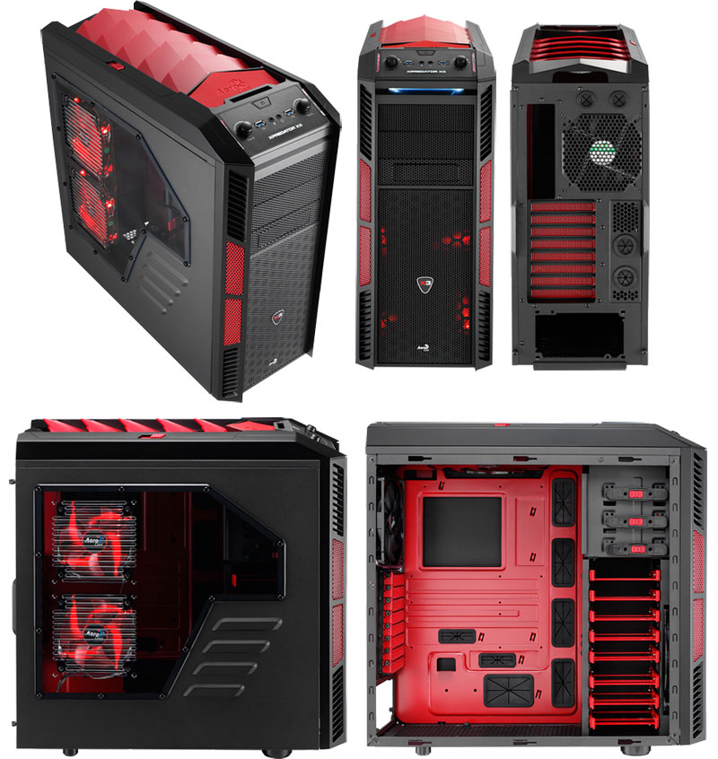Aerocool XPREDATOR X3 Devil Red Edition