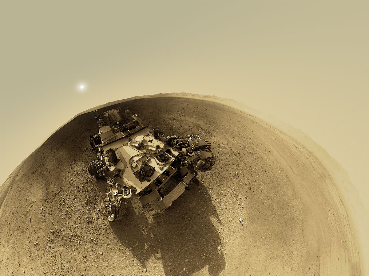 Curiosity удалось доказать, что на поверхности Марса была вода