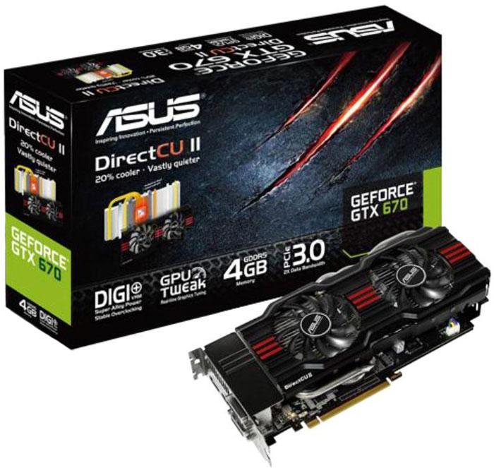 ASUS GeForce GTX 670 DirectCU II 4GB GDDR5