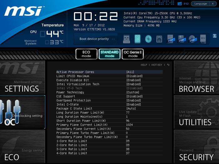 MSI Z77A-GD80 CPU 1