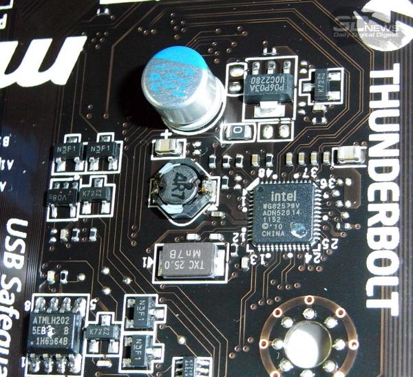MSI Z77A-GD80 сетевой контроллер 1