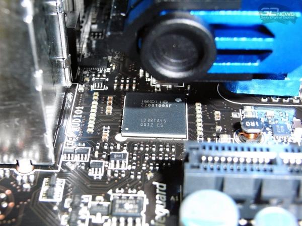 MSI Z77A-GD80 контроллер Thunderbolt