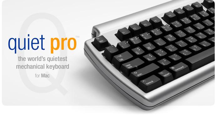 Matias Quiet Pro for Mac