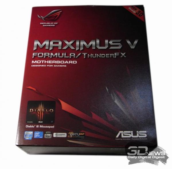ASUS Maximus V Formula упаковка
