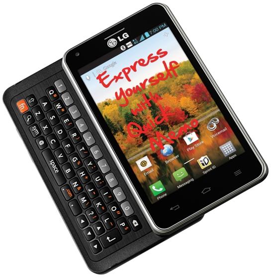 Анонсирован слайдер LG Mach LTE с QWERTY-клавиатурой