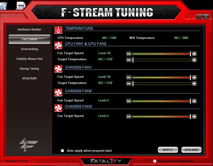 ASRock Fatal1ty X79 Champion системный мониторинг 4