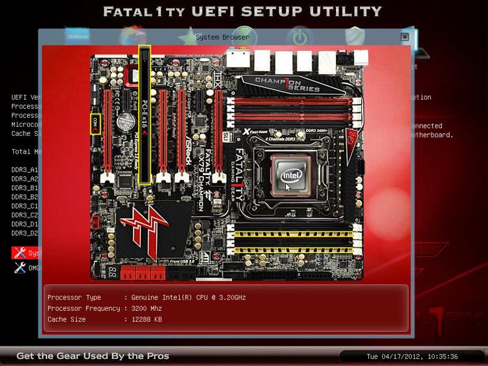 ASRock Fatal1ty X79 Champion BIOS browser 1