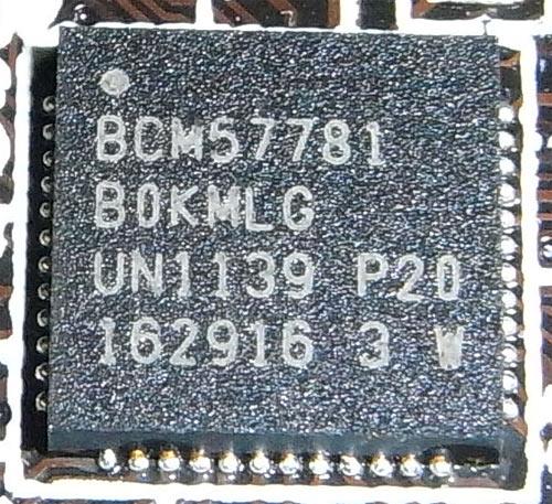 ASRock Fatal1ty X79 Champion сетевой контроллер 1