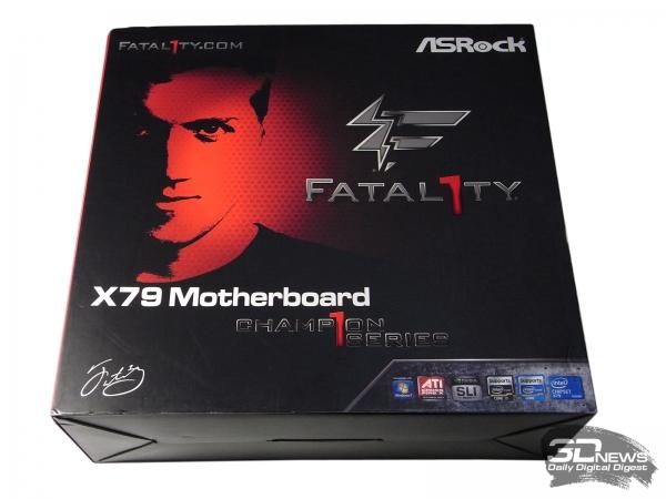 ASRock Fatal1ty X79 Champion упаковка