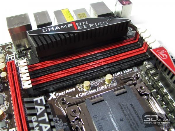 ASRock Fatal1ty X79 Champion DIMMs