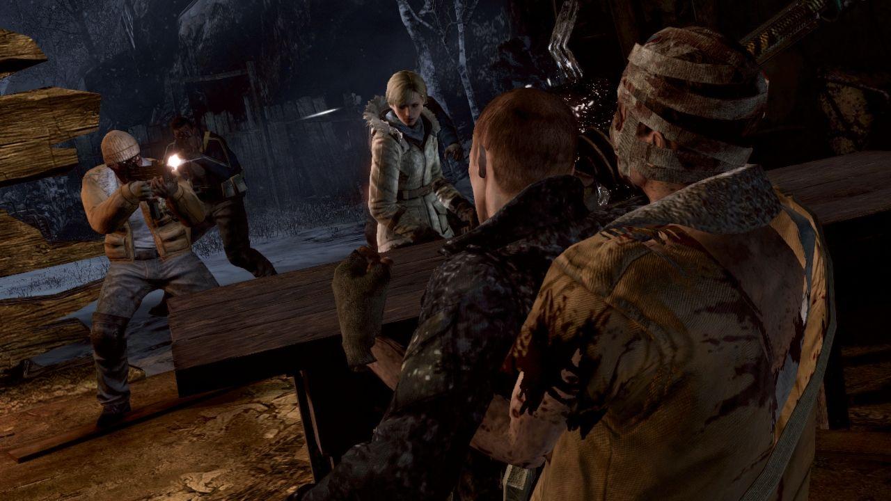 Скриншоты из игры Resident Evil 6.