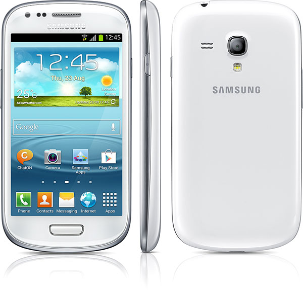 Samsung представила компактный смартфон Galaxy S III mini