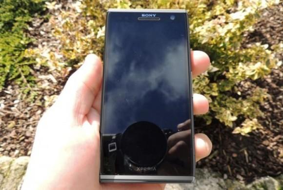 «Шпионское» фото смартфона Sony Xperia Odin