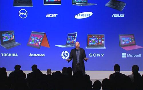 Microsoft провела презентацию и запуск Windows 8