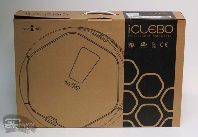 Робот-пылесос iClebo Artec в упаковке
