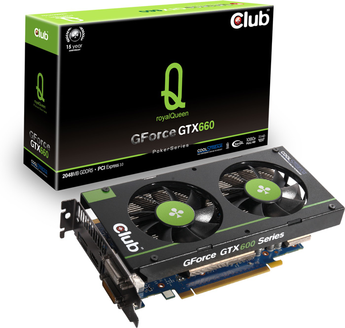 Club 3D GeForce GTX 660 royalQueen