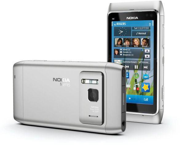 Nokia N8 в алюминиевом корпусе