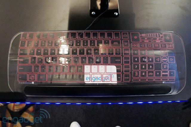 Прозрачные клавиатуры Translusense   novinki it industrii