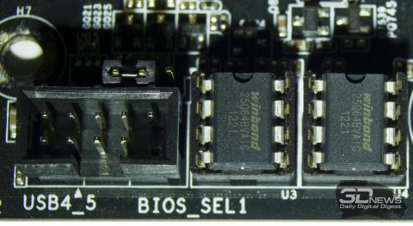 Микросхемы BIOS — обзор материнской платы ASRock Z77 OC Formula