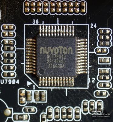 Отдельная микросхема для получения информации от термодатчиков — обзор материнской платы ASRock Z77 OC Formula