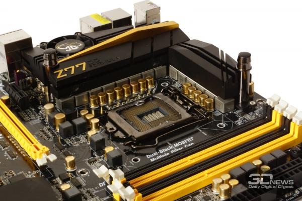 ASRock Twin-Power Cooling — обзор материнской платы ASRock Z77 OC Formula