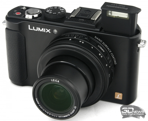 Panasonic Lumix DMC-LX7 — внешний вид