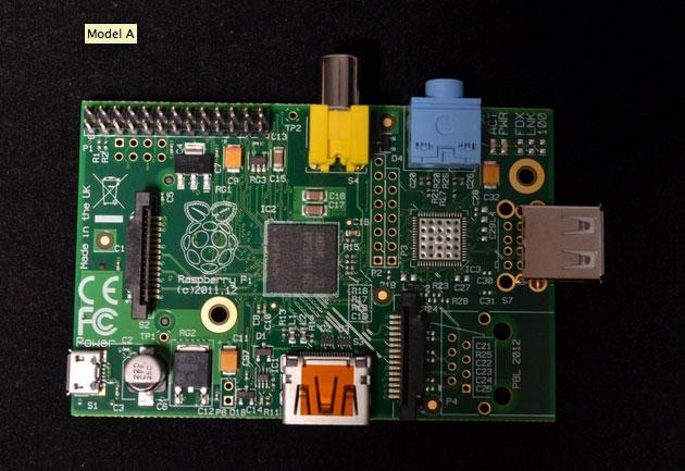 Raspberry Pi модель A