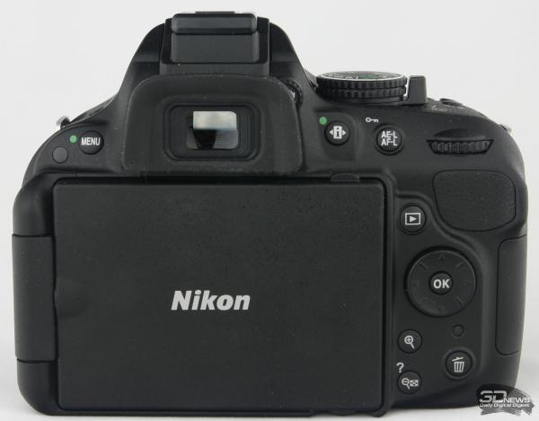 Nikon D5200 — вид сзади