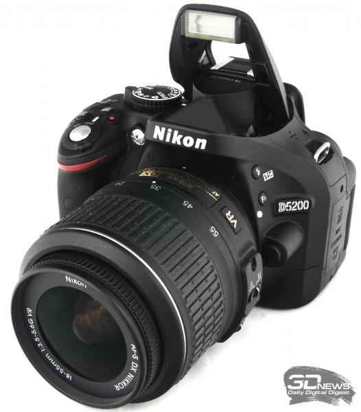 Nikon D5200 — общий вид