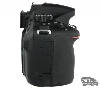 Nikon D5200 — вид слева и справа