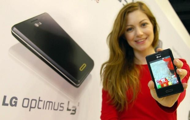 MWC 2013: анонс бюджетного смартфона LG Optimus L3II